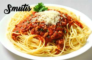 Spaghetti en Salsa Bolognesa